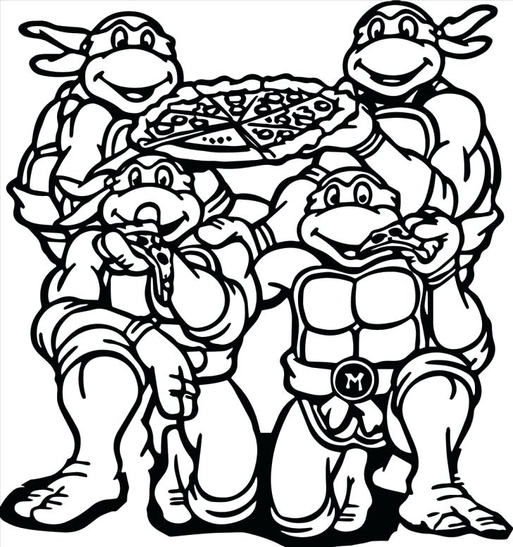 728x776 Pizza Coloring Page With Wallpaper Desktop Background Medium Size