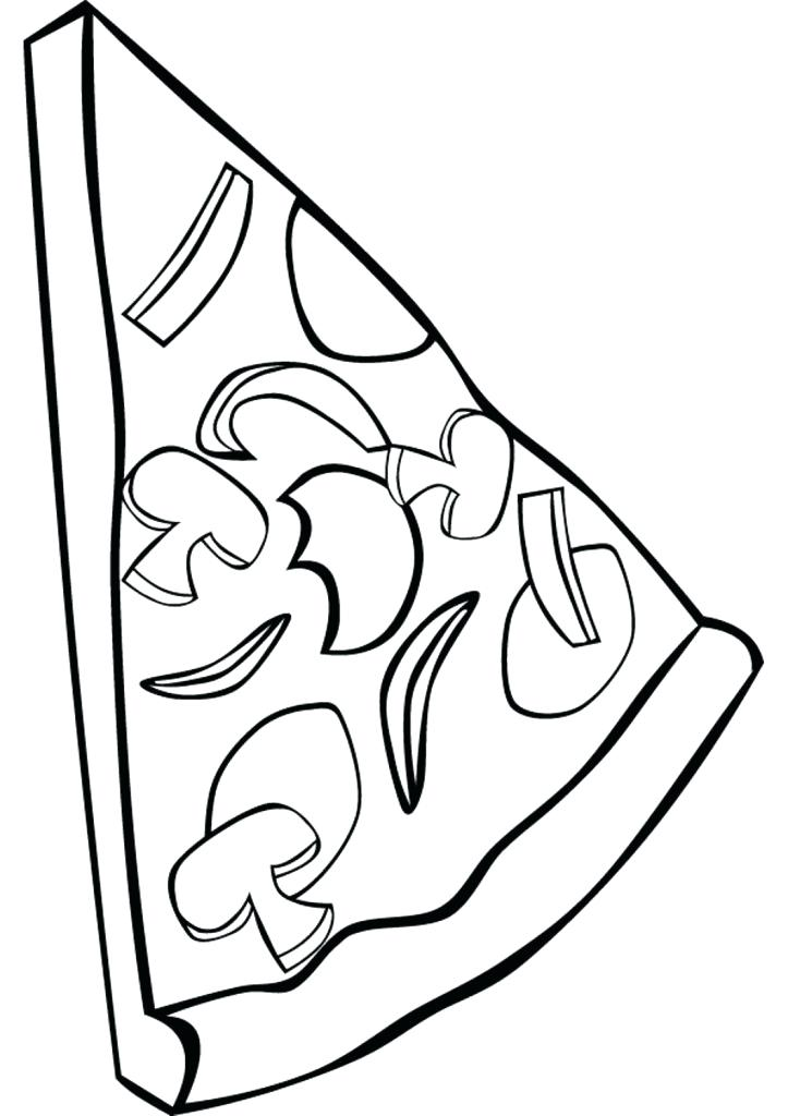 723x1024 Pizza Coloring Pages Cartoon Picture Of Pizza Coloring Page Free