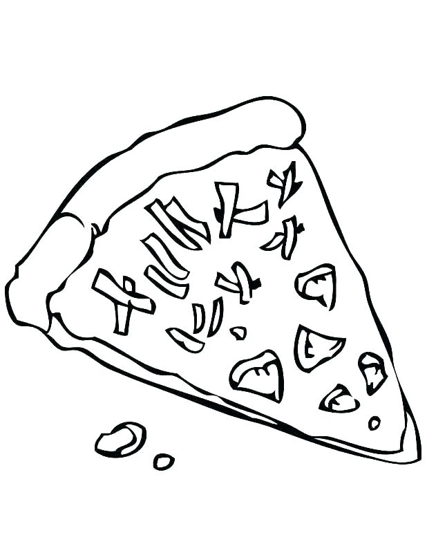 618x800 Pizza Coloring Pages P Is For Pizza Coloring Sheet Coloring Pages
