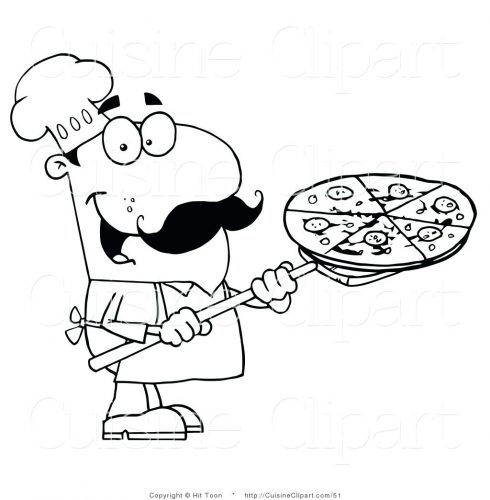 490x500 Coloring Pages Pizza Coloring Pages Com Within Page Preschool