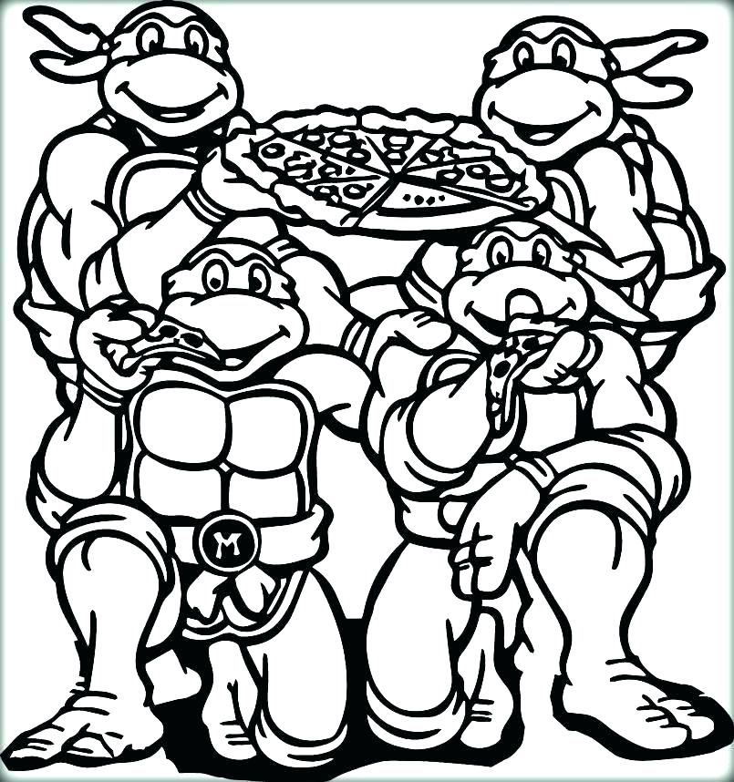 805x858 Pizza Coloring Pages Coloring Ideas Pro