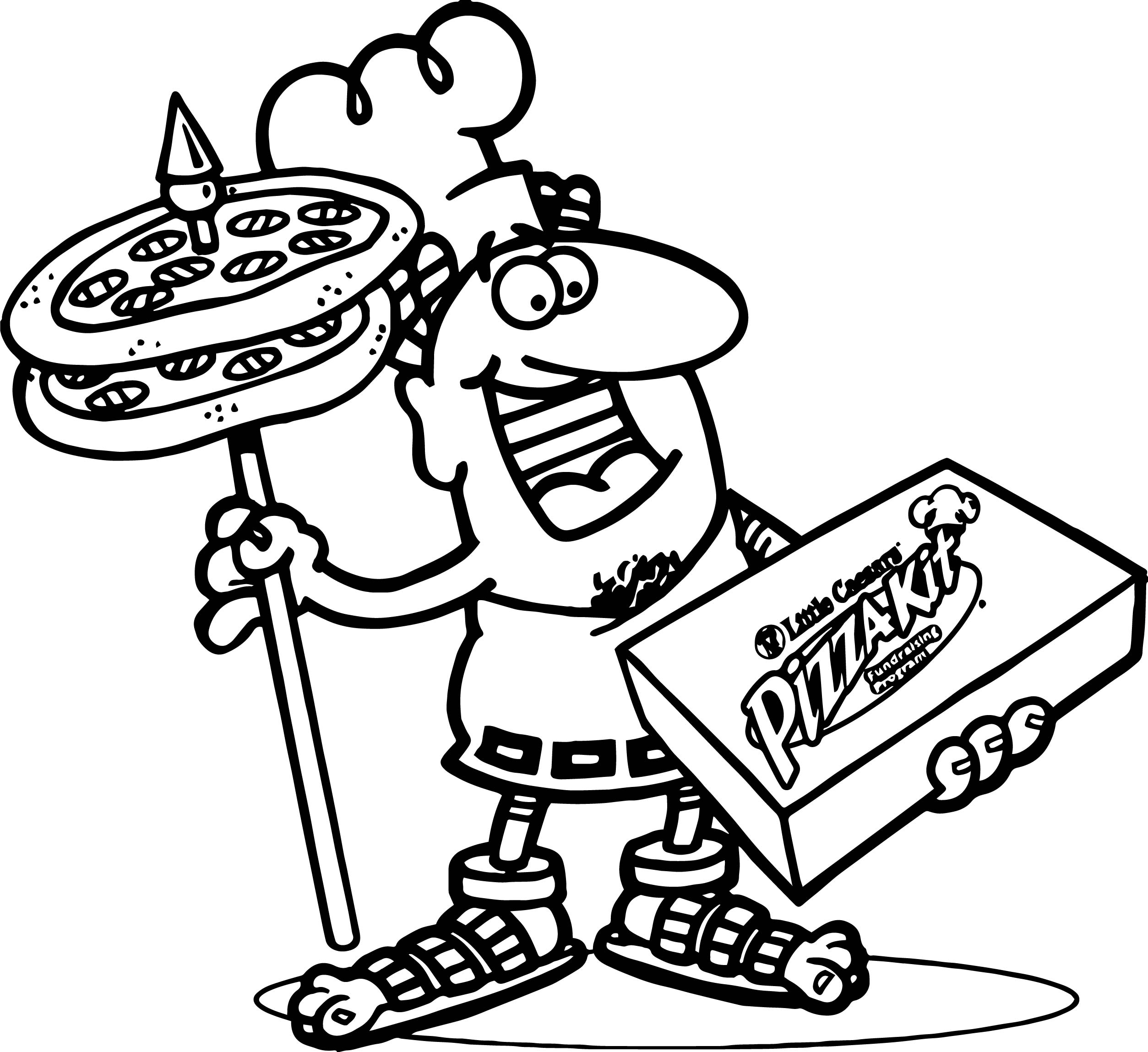 2507x2298 Convenient Pizzag Pages Of Food For Kids Hut Toppings Colouring