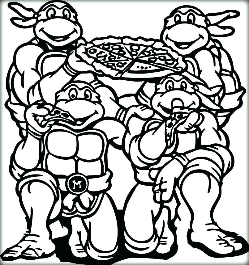 805x858 Pizza Coloring Pages Coloring Page Coloring Pages Ninja Turtles