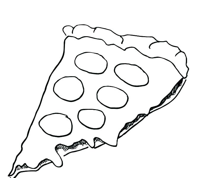 678x600 Pizza Coloring Pages Pizza Coloring Pages Printable Pizza Toppings
