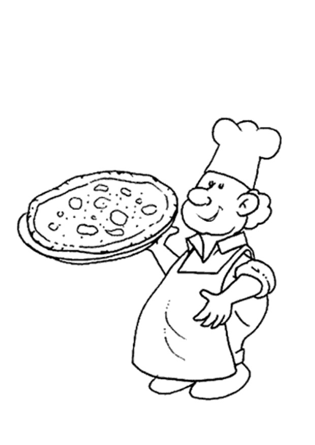 620x875 Pizza Coloring Pages Kids Printable Coloring Pages