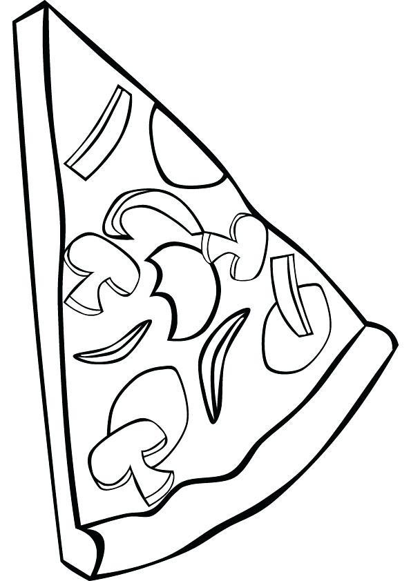 595x842 Coloring Pages Pizza Pizza Coloring Pages Coloring Pictures