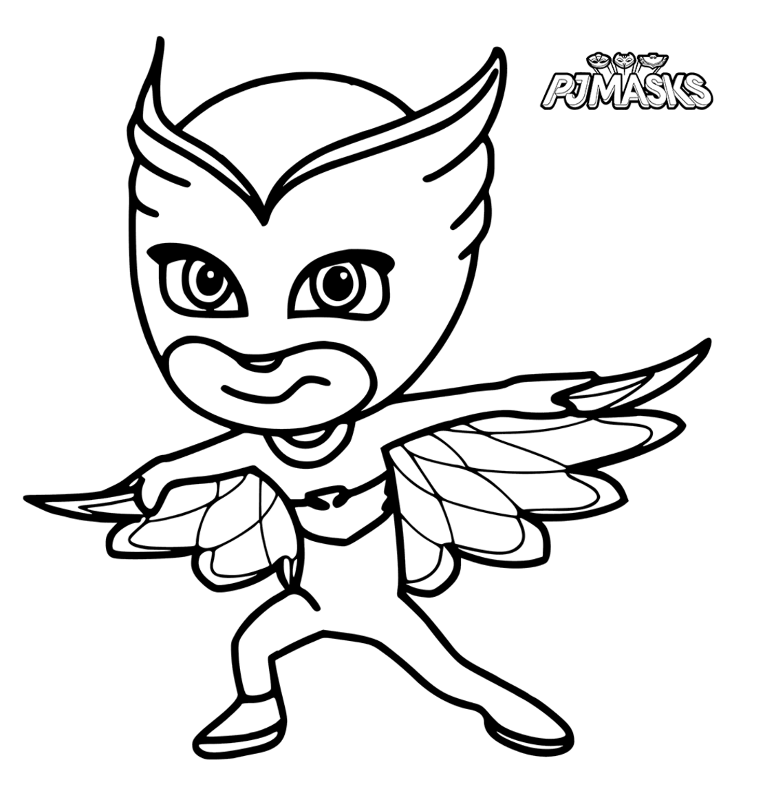 1128x1146 Pj Masks Coloring Pages To Download And Print For Free Jj