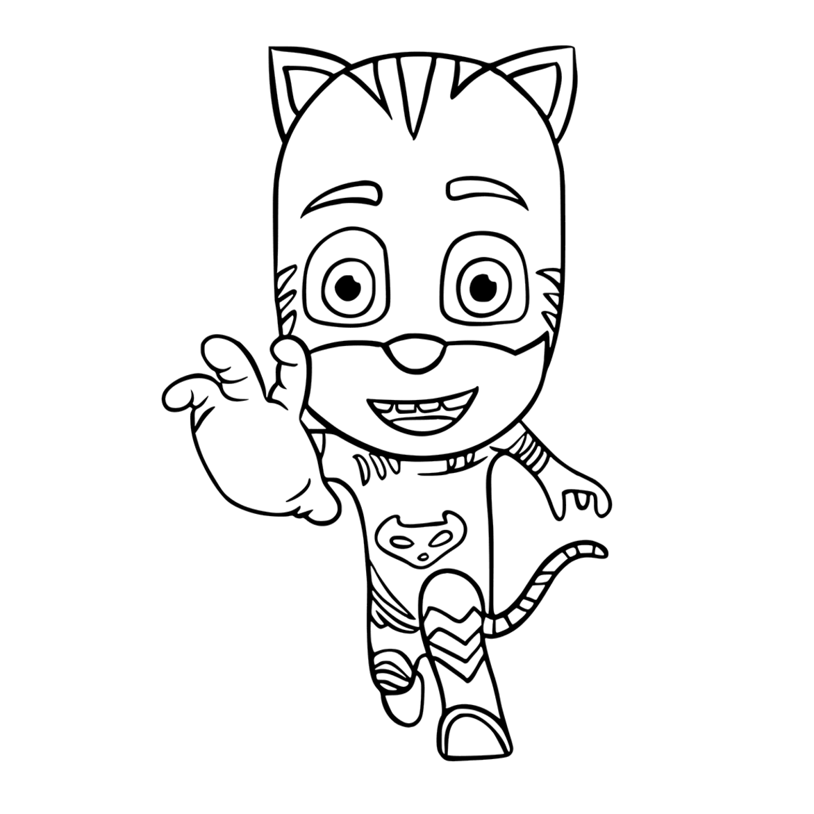 1172x1172 Pj Masks Coloring Pages To Download And Print For Free