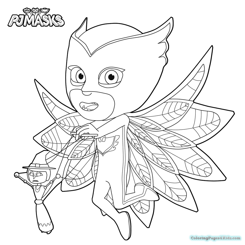 1024x1024 Pj Masks Coloring Pages Coloring Pages For Kids