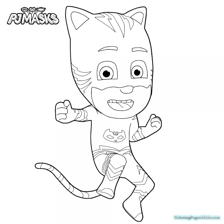 768x768 Charming Decoration Pj Mask Coloring Pages Pj Masks Coloring Pages