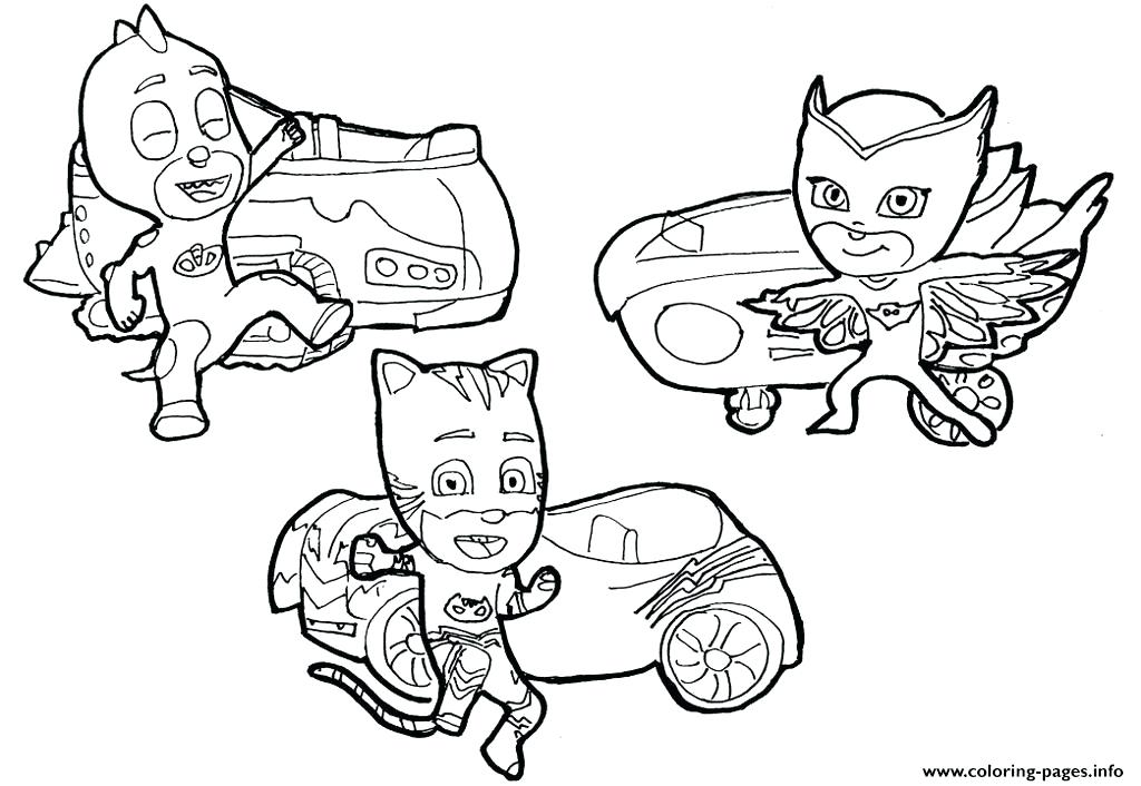 1024x706 Pj Masks Coloring Pages To Print Mask Coloring Page Mask Coloring