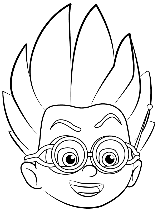 600x800 Top Pj Masks Coloring Pages Pj Mask, Pj And Masking
