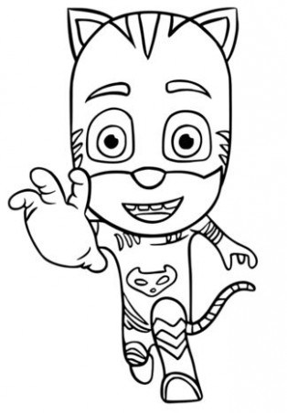 Pj Mask Owlette Coloring Pages At Getdrawings Free Download