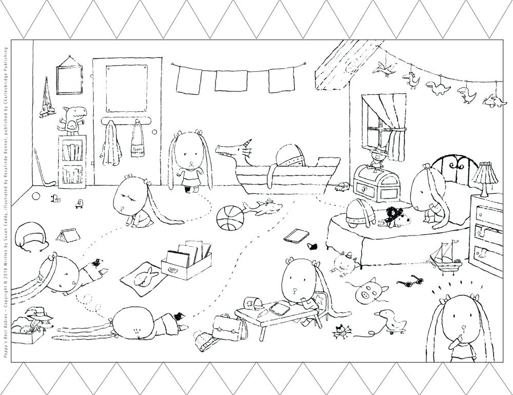 1000x770 Travel Detour Coloring Page Free Printable Place Value Game Free