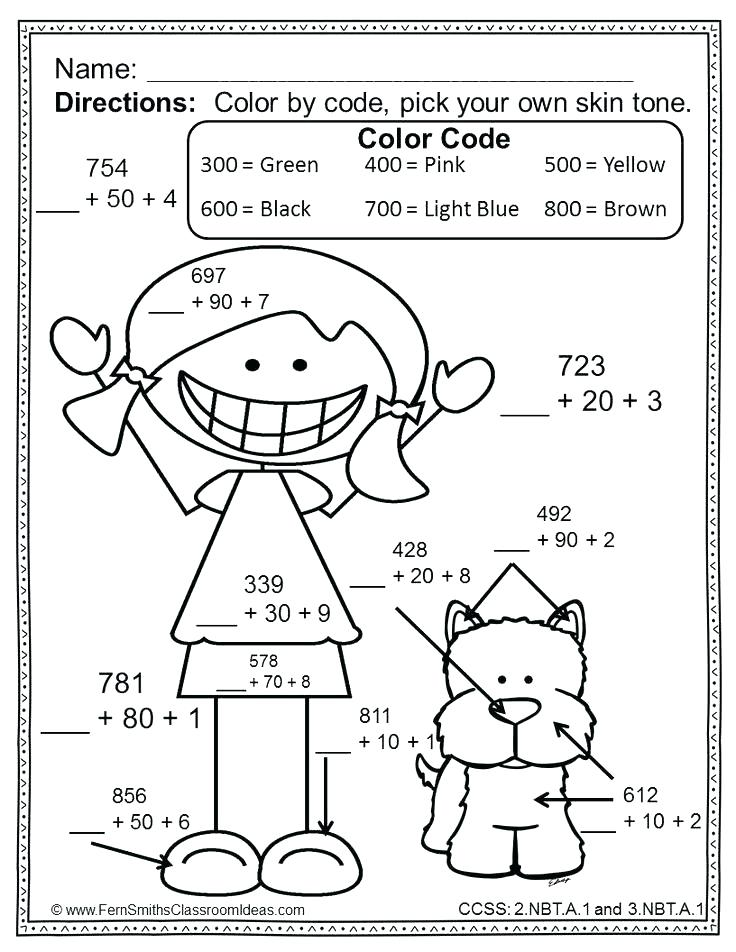 736x952 Free Math Coloring Sheets Math Coloring Pages For Graders