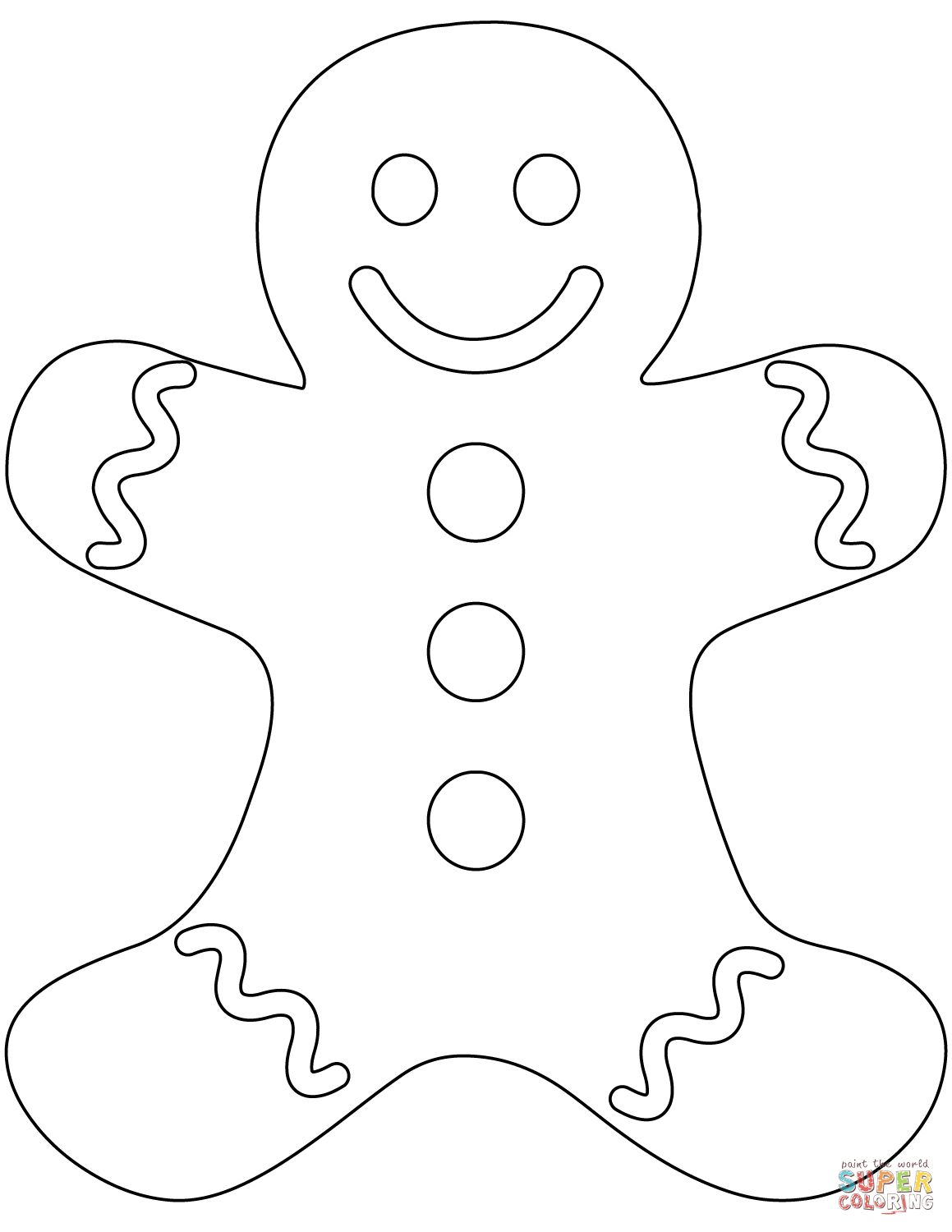1159x1500 Plain Gingerbread Man Coloring Page Gingerbread Man Coloring Pages