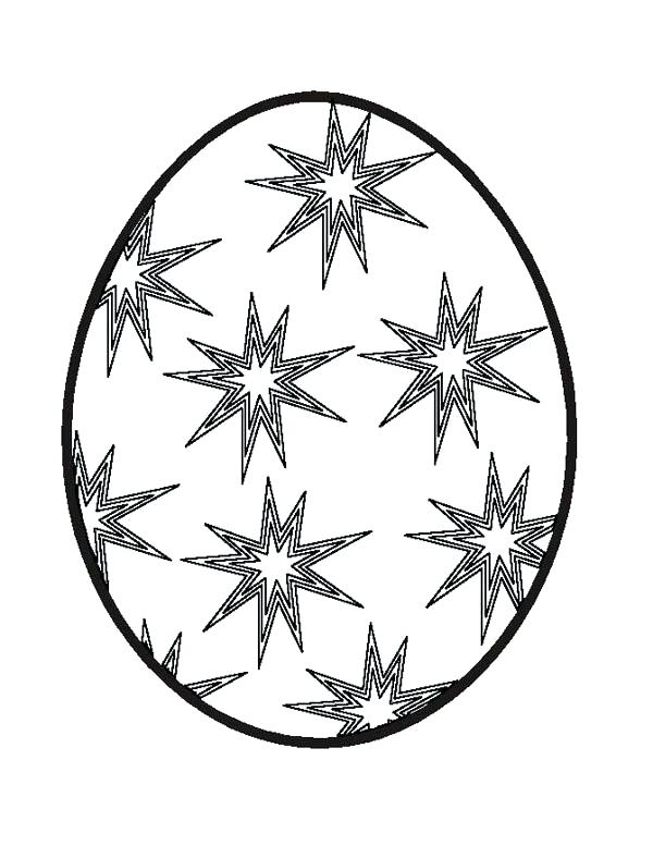 600x777 Plain Easter Egg Coloring Pages Egg Coloring Pages Egg On Basket