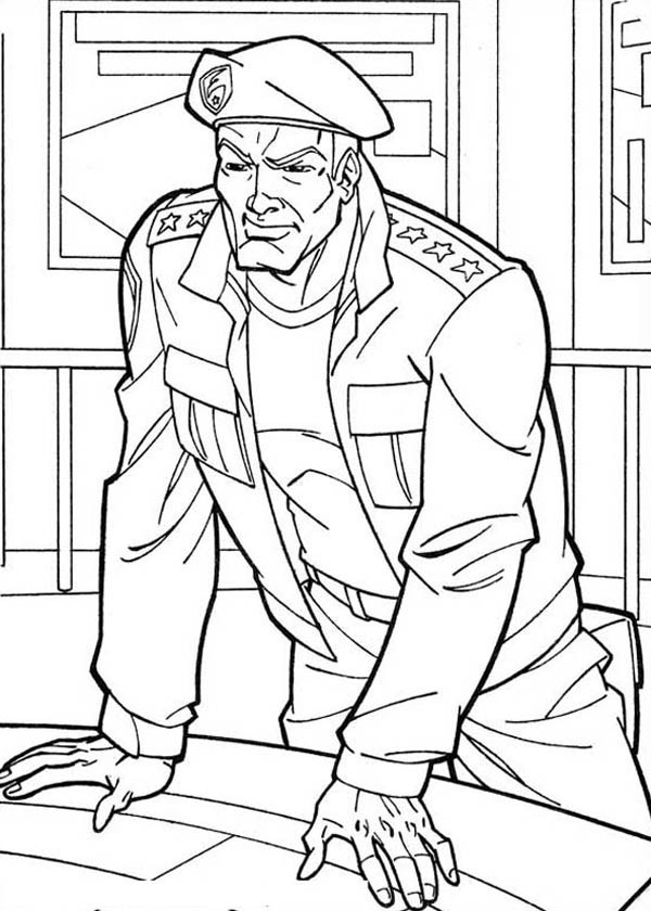 600x840 G I Joe Attacking Plan Coloring Pages Batch Coloring