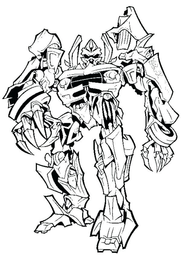 600x844 Optimus Prime Vs Megatron Coloring Pages Evil Plan To Take Over