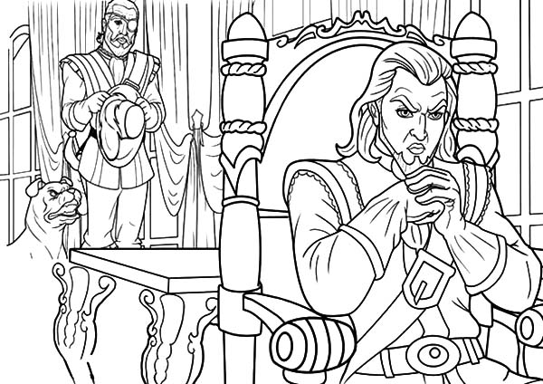 600x424 Barbie Three Musketeers The Lord Evil Plan Coloring Pages Batch