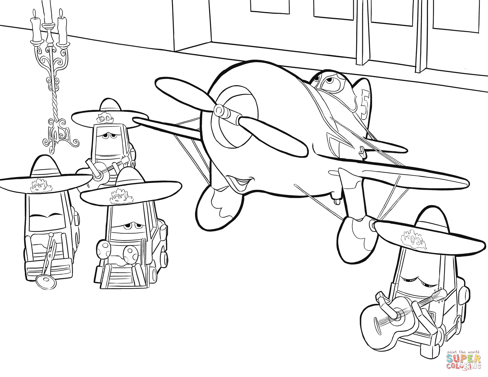 1619x1251 Happy Pixar Planes Coloring Pages Disney Free