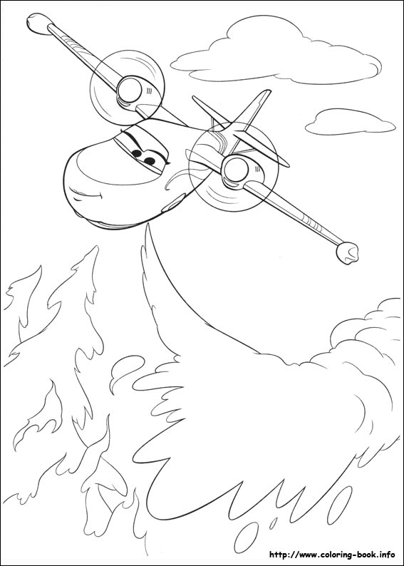 567x794 Planes Fire Rescue Coloring Pages On Coloring
