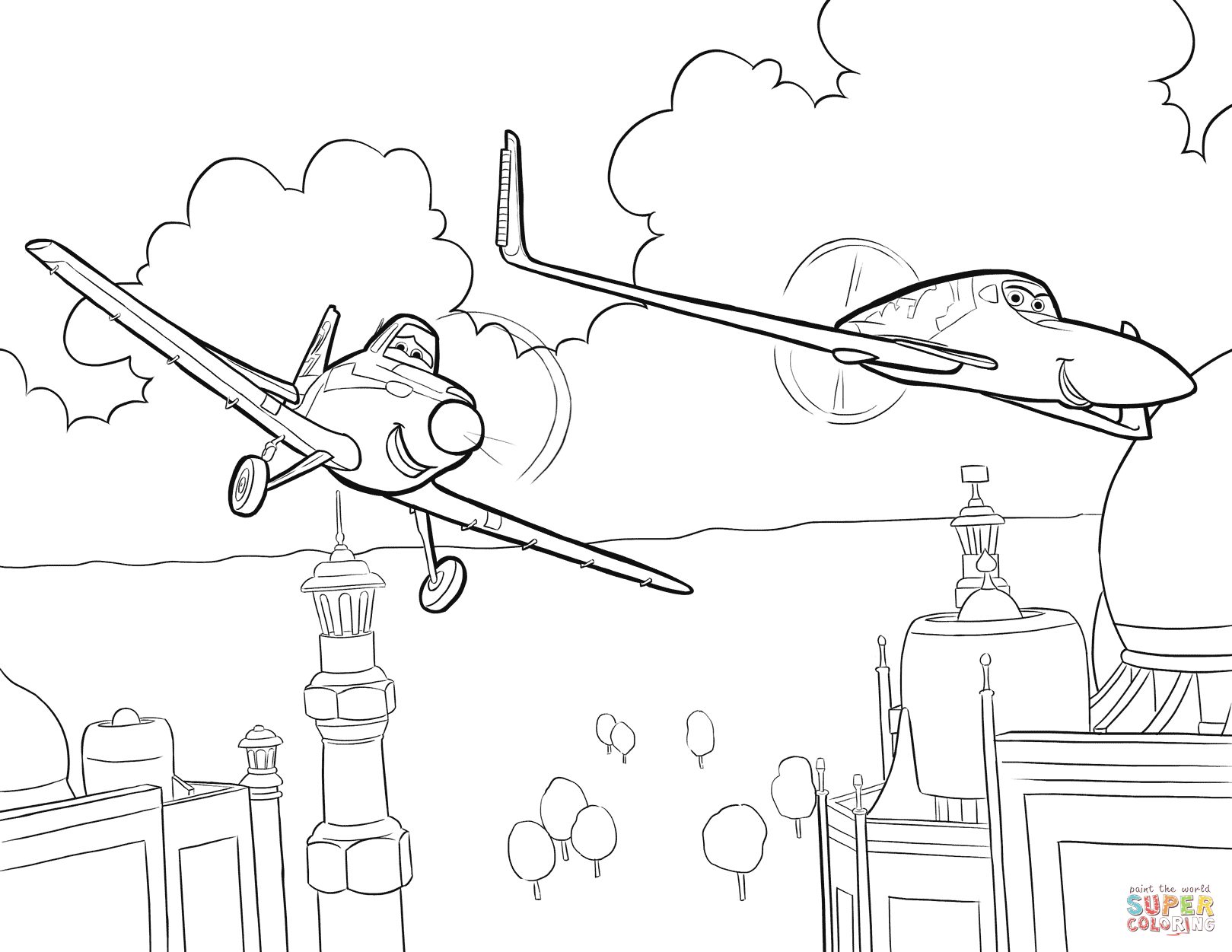 The Best Free Plane Coloring Page Images Download From 315 Free