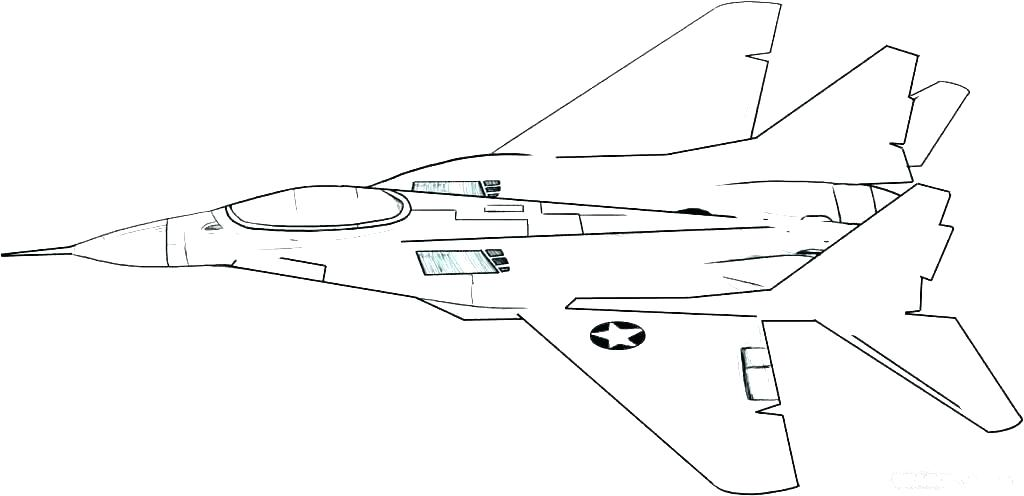 1024x496 Coloring Pages Of Airplanes Fighter Jet Coloring Pages Airplane