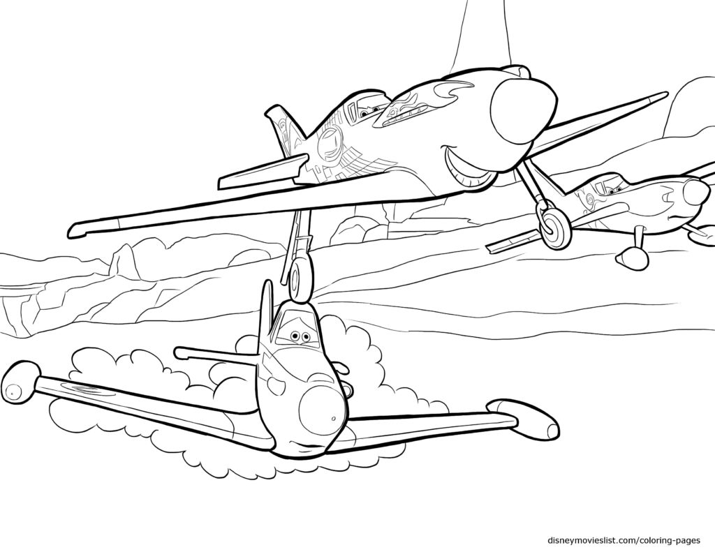 1024x791 Direct Pixar Planes Coloring Pages Disney S Sheet Free Printable