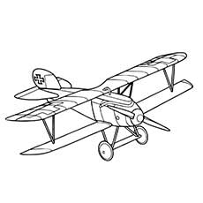 230x230 Top Airplane Coloring Pages Your Toddler Will Love