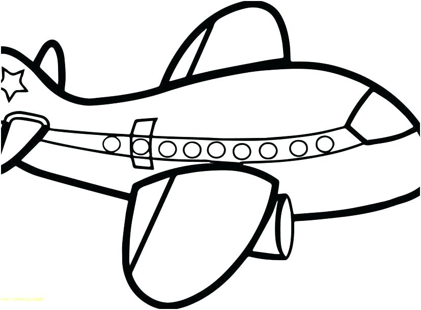 827x609 Coloring Pages Aeroplane