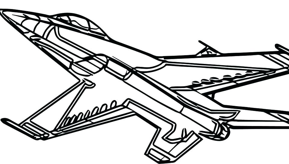 960x544 Airplane Coloring Pages To Print For Free Bomber B Page