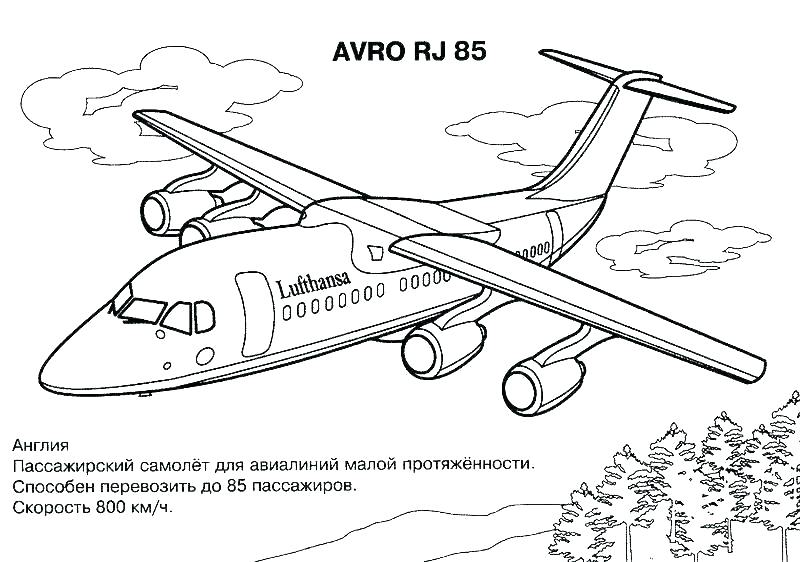 800x562 Plane Printable Coloring Pages Plane Coloring Page Coloring Page