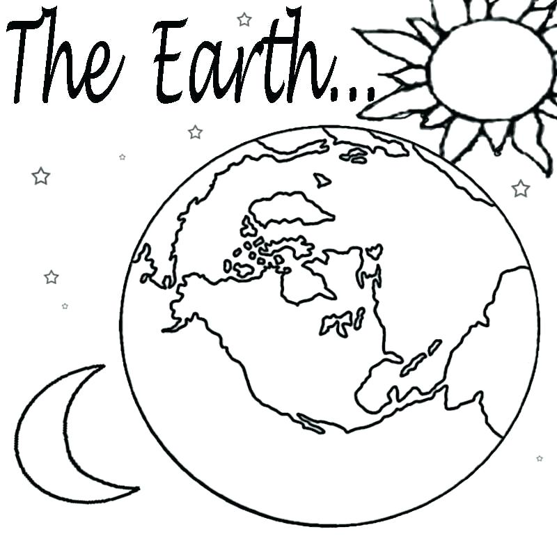 800x800 Coloring Page Earth Earth Coloring Planet Earth Pictures To Color