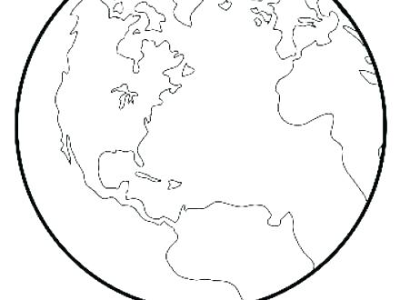 440x330 Earth Coloring Pages Free Printable Photograph Planet Earth Earth