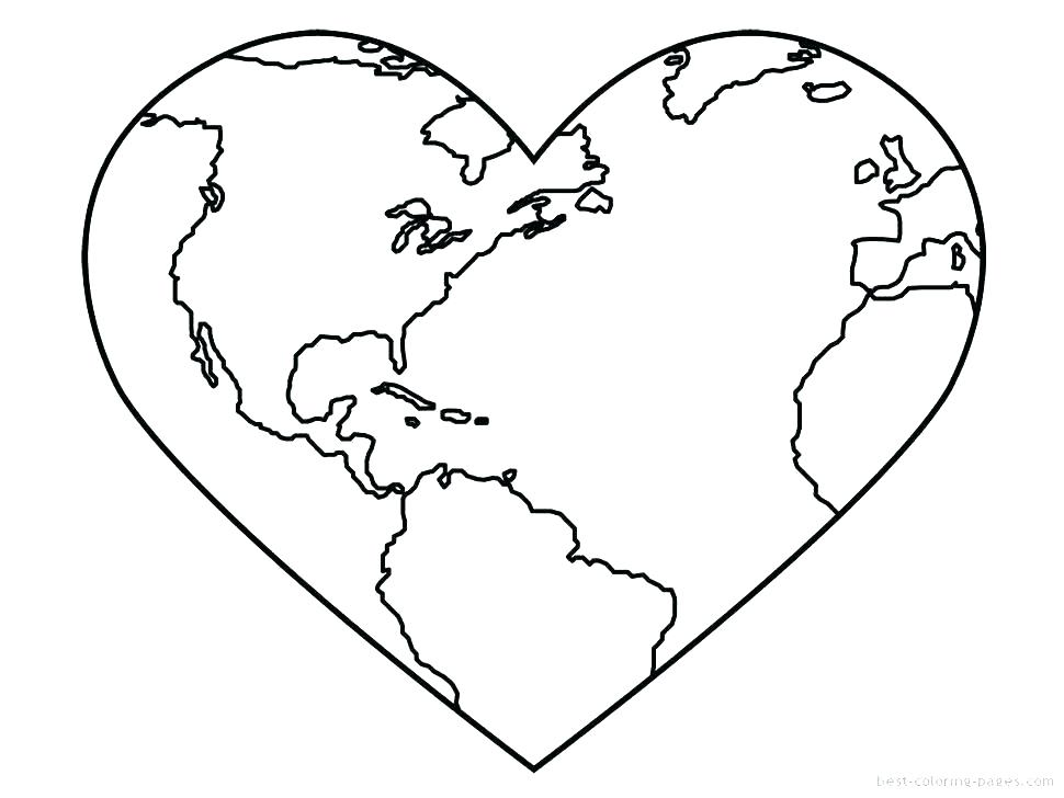 970x728 Earth Coloring Pages Planet Earth Coloring Page Coloring Page