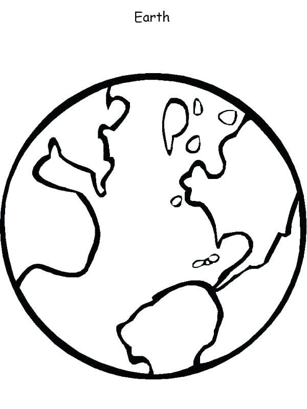 Planet Earth Coloring Pages at GetDrawings | Free download