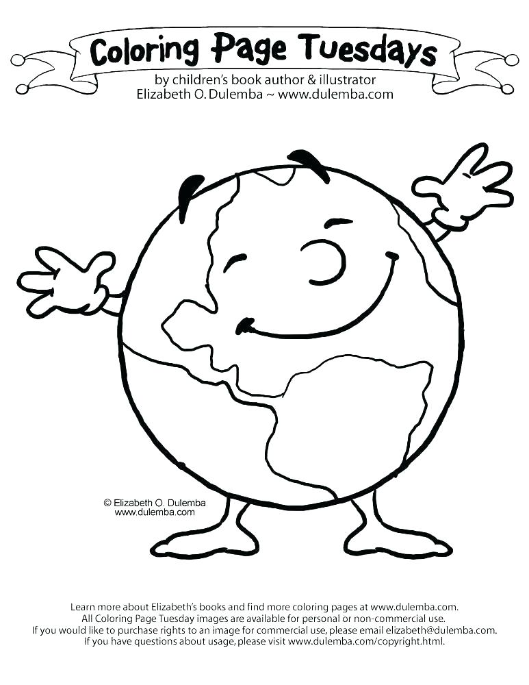 773x1000 Coloring Page Of Earth Planet Earth Coloring Coloring Pages Earth