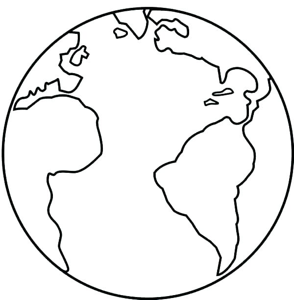 600x611 Planet Earth Coloring Page Earth Picture Coloring Free Planet