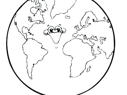 440x330 Planet Earth Coloring Pages Colouring Planets Solar System Kids