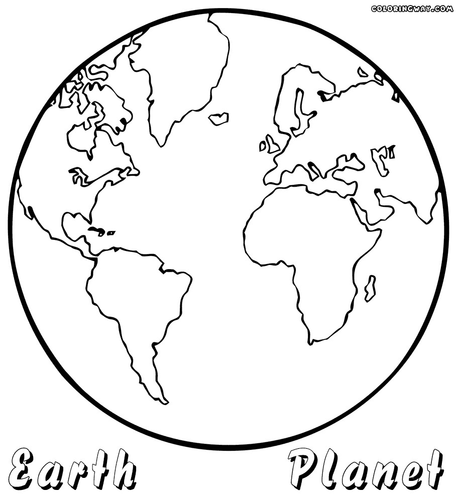916x1000 Planet Earth Coloring Pages Earth Coloring Pages World