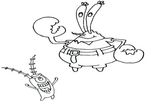 476x333 Plankton Coloring Pages Pearl Coloring Pages Plankton Coloring