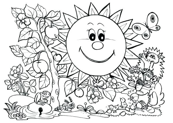 600x425 Parts Of A Plant Coloring Page Parts Of Plants Song Grade Teaching