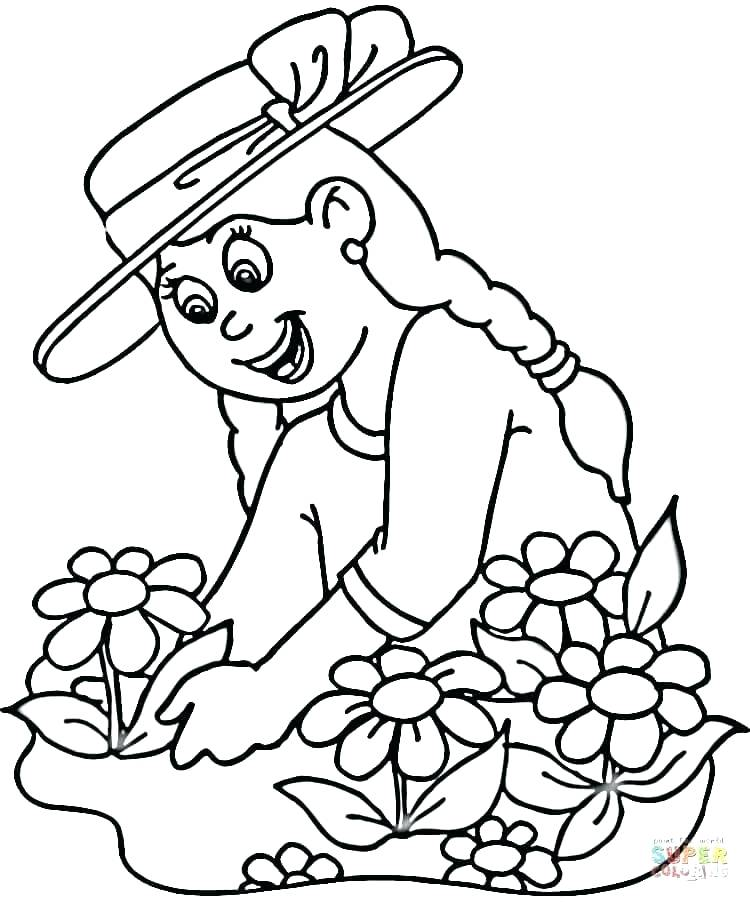750x902 Plant Coloring Pages Plant And Flower Coloring Pages Plant Parts
