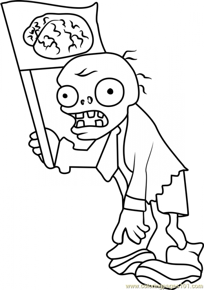 Plants Vs Zombies Coloring Pages at GetDrawings.com | Free for ...