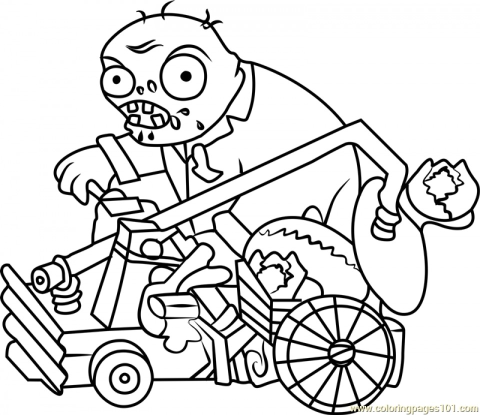 Plants Vs Zombies Coloring Pages All Plants At Getdrawings Free