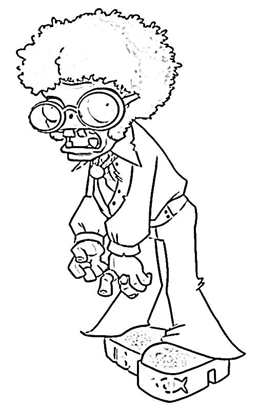 Plants Vs Zombies Garden Warfare Coloring Pages At