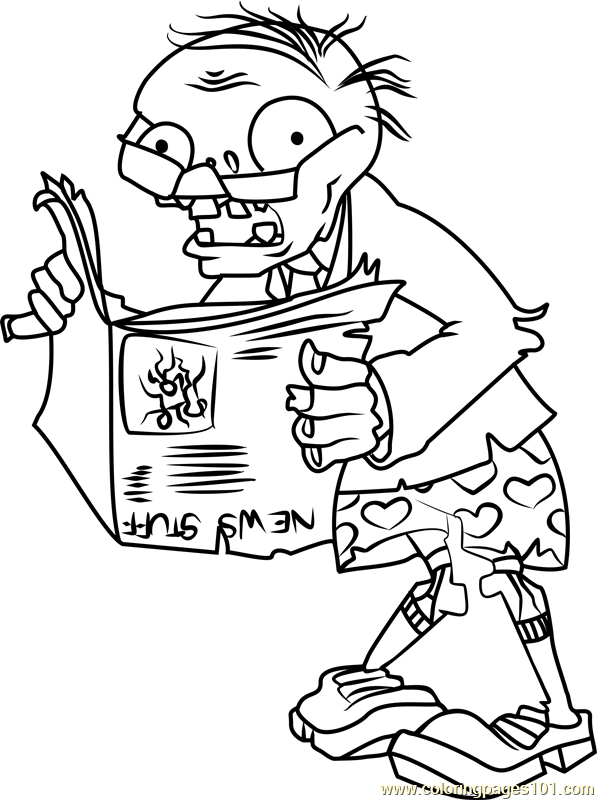 plants vs zombies printable coloring pages at getdrawings
