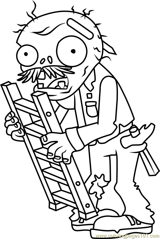 Plants Zombies Coloring Pages At Getdrawings Com Free For Personal