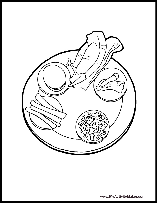 618x798 Passover Coloring Pages